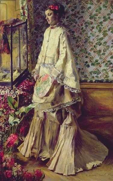 Portrait of Rapha, 1871