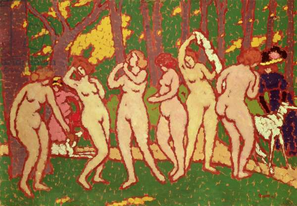 Nudes in a Park, 1910