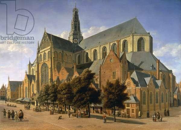 Church of St. Bavo in Haarlem, 1666 (oil on panel)