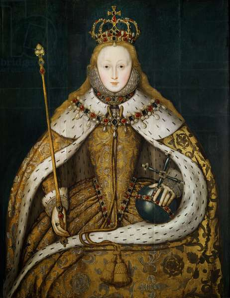 Queen Elizabeth I , c.1600 (oil on panel)