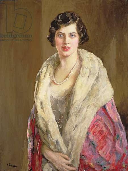 Lady Victoria Bullock (oil on canvas)
