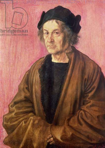Albrecht Durer's Father, 1497 (panel)