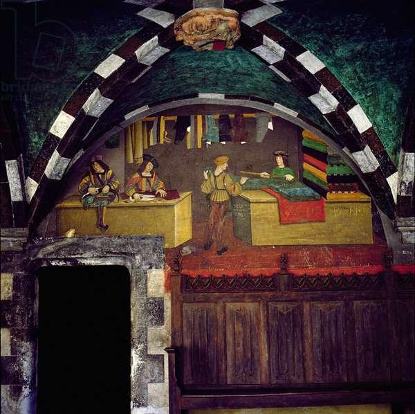 The Tailor's Shop (fresco)