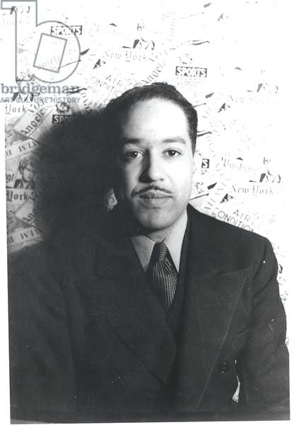 Langston Hughes (1902-67) 29th February 1936 (gelatin silver print)