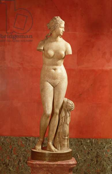 "Aphrodite, known as the ""Tauride Venus"", Roman copy of a Greek original, 3rd century BC (marble)"