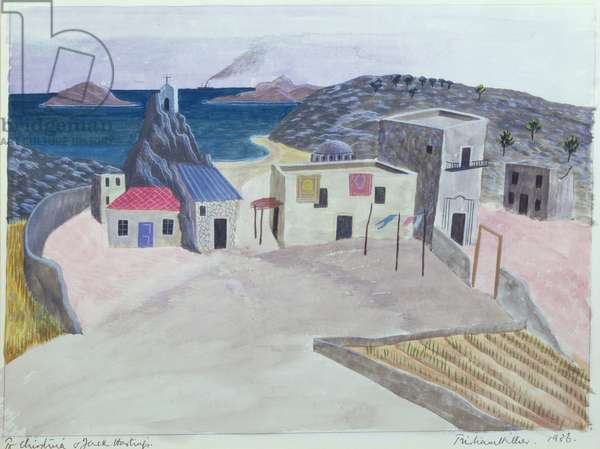 Village by the sea, Morocco, 1936
