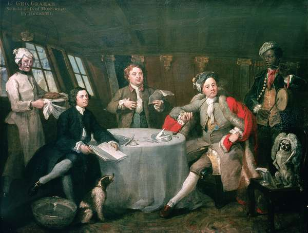 Captain Graham in his Cabin, 1745