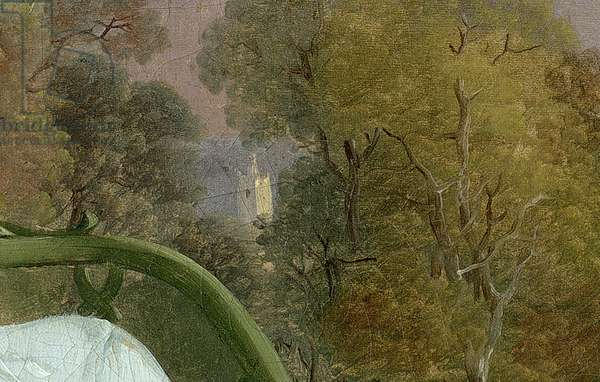 Mr and Mrs Andrews, c.1748-9 (oil on canvas) (detail of 467)