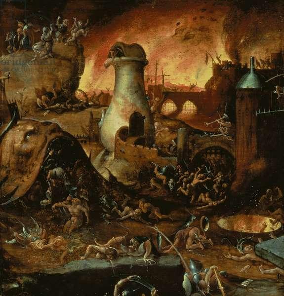 Hell (oil on panel)
