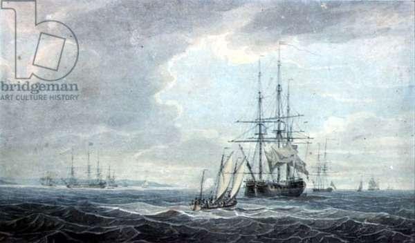 Shipping (watercolour)
