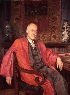 Sir Cyril Hinshelwood, c.1960 (oil on canvas)