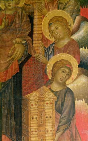 Angels from the Santa Trinita Altarpiece (see 31626)