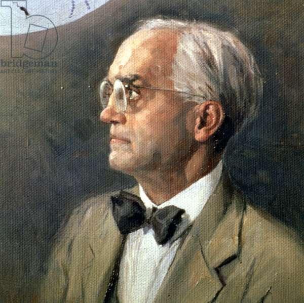 Sir Alexander Fleming (1881-1955) (oil on canvas)