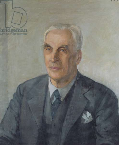 Portrait of Arnold Toynbee (oil on canvas)