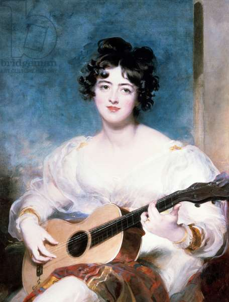 Lady Wallscourt, 1825 (oil on canvas)