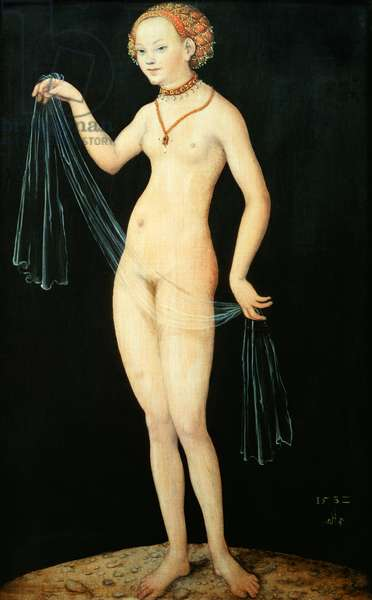 Venus, 1532 (oil and tempera on red beechwood)