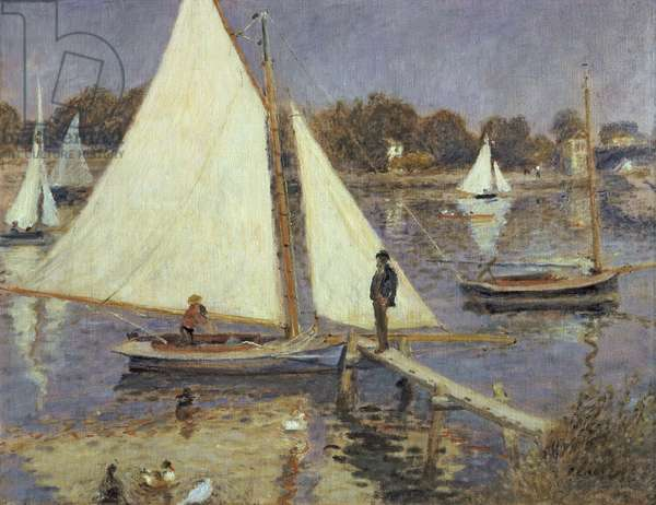 The Seine at Argenteuil, 1874 (oil on canvas)