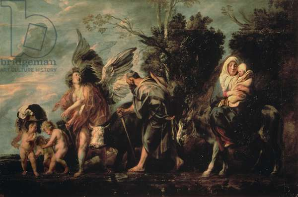 The Flight into Egypt, 17th century