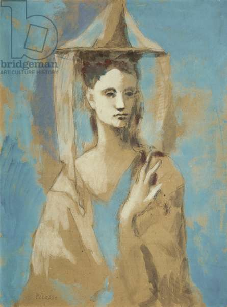 Spanish Woman, from Majorca, 1905 (w/c on paper)