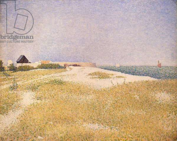 View of Fort Samson, 1885 (oil on canvas)