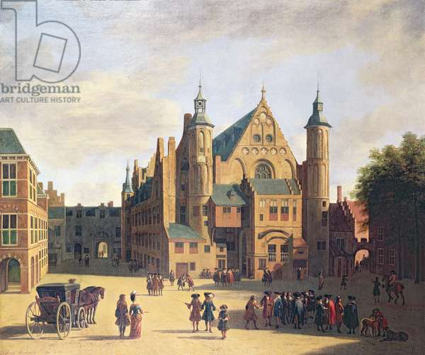 A Town Square in Haarlem