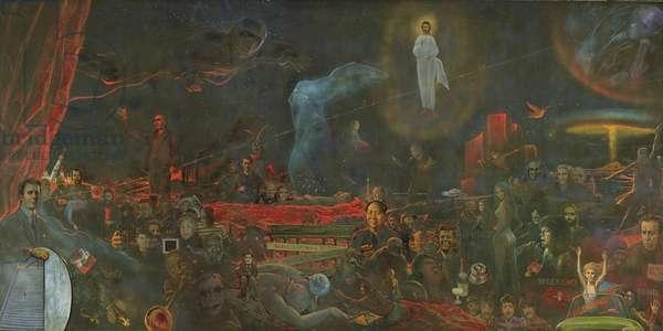 The Mystery of the Twentieth Century, 1977 (oil on canvas)