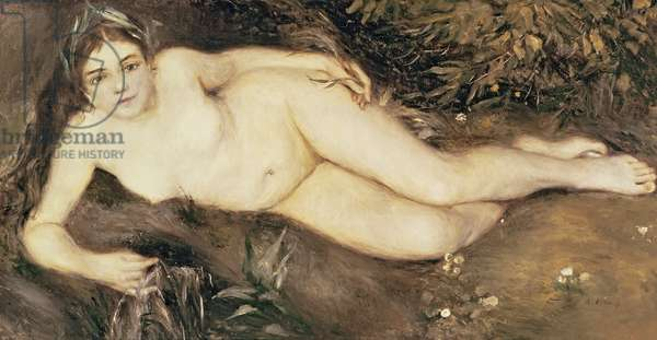 A Nymph by a Stream, 1869-70 (oil on canvas)