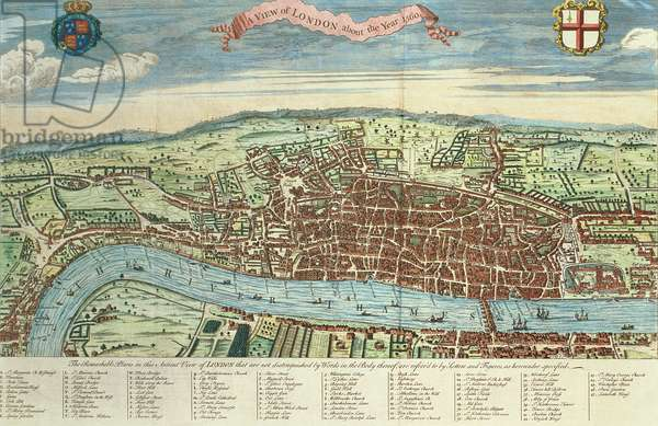 View of London, c.1560