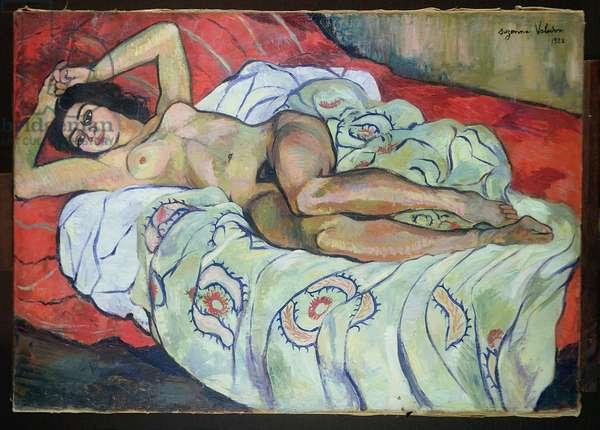Nude Female Reclining, 1922
