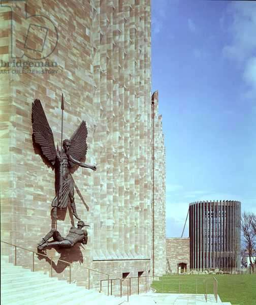 St. Michael Vanquishing the Devil, cast in 1960 (bronze)