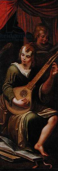 Lute player, 1609 (oil on panel)