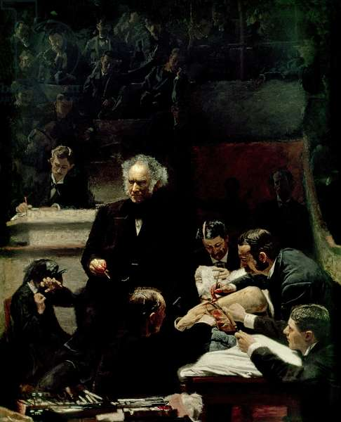 The Gross Clinic, 1875 (oil on canvas)