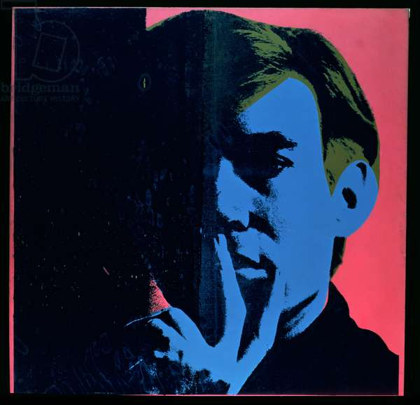 Self Portrait, 1967 (acrylic silkscreen print)