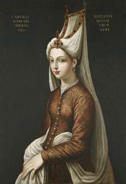 Haseki Hurem Sultan, 1541 (oil on canvas)
