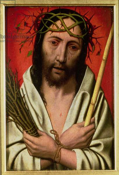 Christ Crowned with Thorns (oak panel)