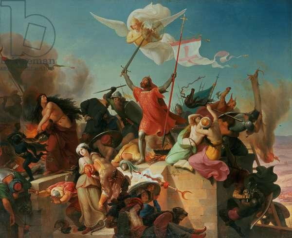 Godfrey de Bouillon, French Crusader