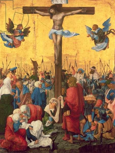 Crucifixion, c.1518 (oil on limewood panel)