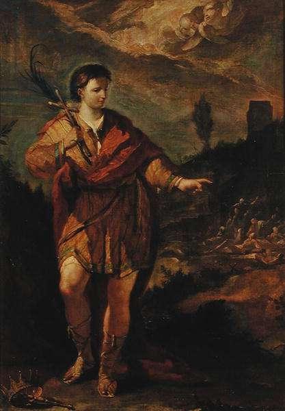 St. Magnus (oil on panel)