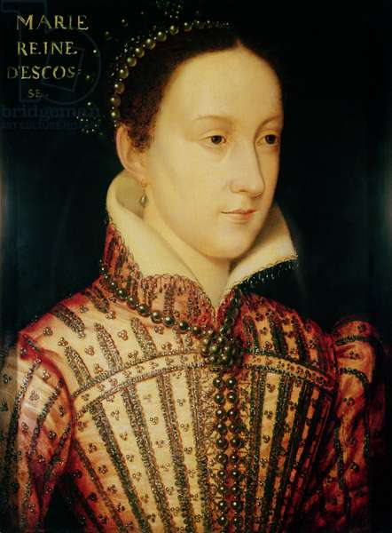 Miniature of Mary Queen of Scots, c.1560 (oil on panel)