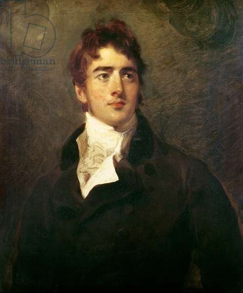 William Lamb, 2nd Viscount Melbourne (1779-1848) (oil on canvas)