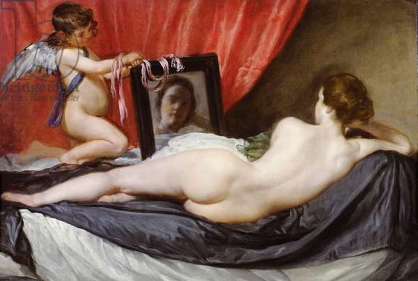 The Rokeby Venus, c.1648-51 (oil on canvas)