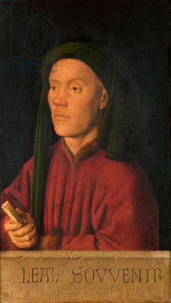 Portrait of a Young Man, 1432 (panel)