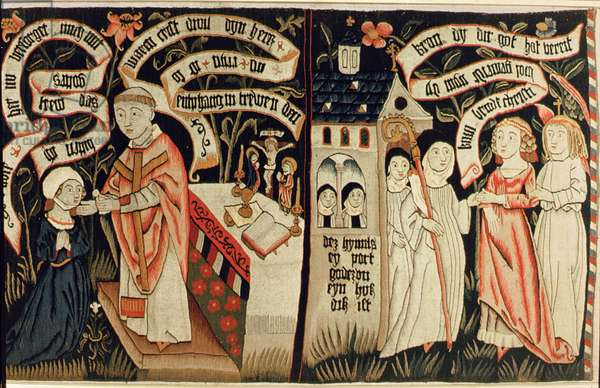 The Search after Truth, c.1490 (tapestry)