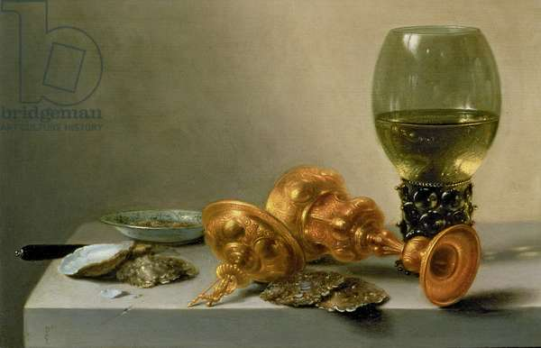 A Still Life with a Roemer and a Gilt Cup, c.1635 (painting)