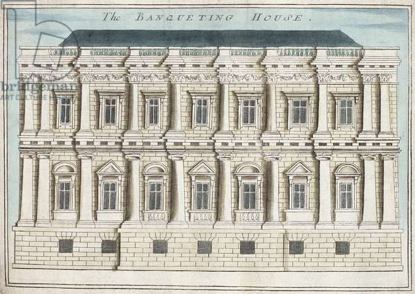 Banqueting House, Whitehall, from 'A Book of the Prospects of the Remarkable Places in and about the City of London', c.1700 (engraving)