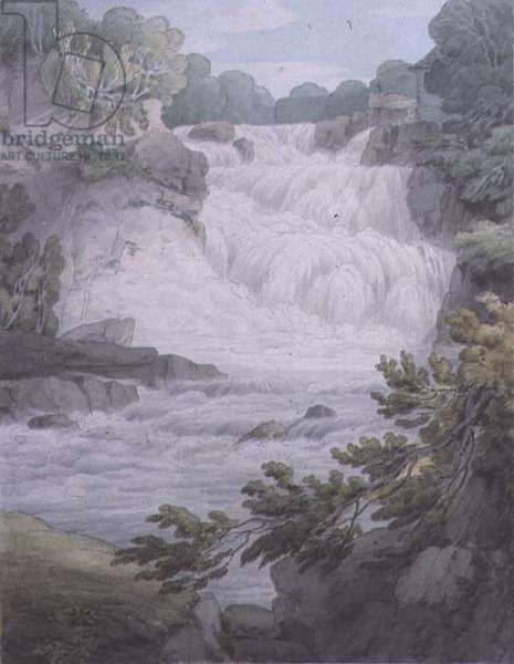 Stonebyers Linn on the Clyde