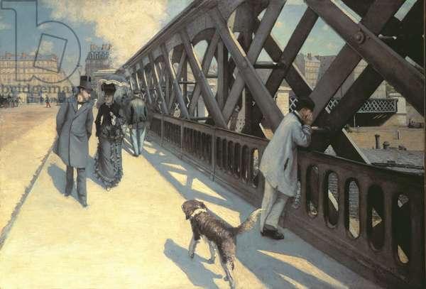 Le Pont de L'Europe, 1876 (for detail see 82874)
