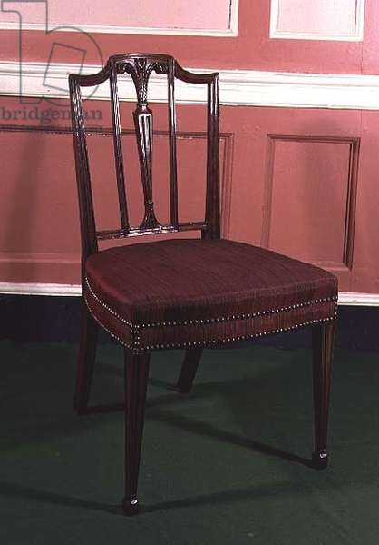 Chippendale chair, c.1780