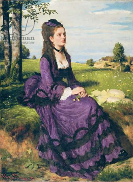 Woman in Violet, 1874