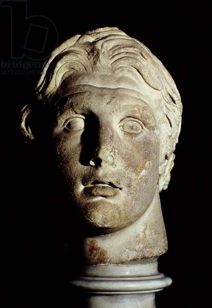 Alexander the Great (356-323 BC), found in Pergamum (marble)